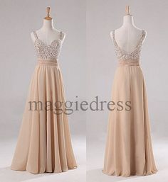 Custom Fashion Beaded Long Prom Dresses Evening Gowns Formal Party Dress Bridesmaid Dresses 2014 Formal Wear Cocktail Dresess Formal Wear on Etsy, $111.89 AUD