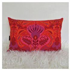 Bolster-Cushion-Cover-Vintage-70s-Jonelle-Marrakech-Fabric-Retro-VW-Boho