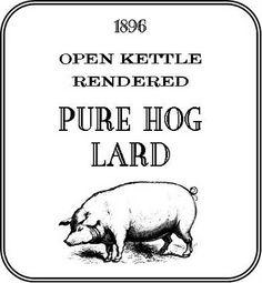 Free pantry label designs