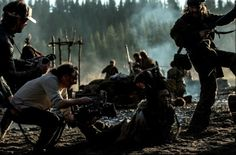 Tom Hardy - The Revenant - Behind the scenes The Revenant, Tom Hardy, Good Looking Men, Some Pictures, Behind The Scenes, Toms, How To Look Better, Handsome, Concert