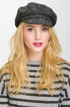 c4286056ce4 nordstrom  halogen® tweed tuck newsboy cap... Fall Hats