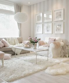 Beautiful Romantic Living Room Design And Decor Ideas - Living-room is the most significant and most open room at home, it invites visitors, it mirrors our lifestyle, so it ought to be only kept up. You sho. Romantic Living Room, Glam Living Room, Elegant Living Room, Living Room Decor Cozy, Interior Design Living Room, Home And Living, Living Room Designs, Romantic Home Decor, Decor Room