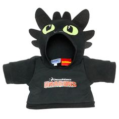 Grandma is getting all the Build-A-Bear clothes :) Toothless Hoodie - Build-A-Bear Workshop US