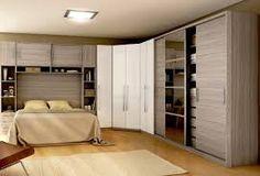 Resultado de imagem para quarto casal planejado pequenos espaços