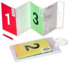 Mass triage tags- disaster tags - these are the ones the state of Indiana uses CERT