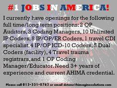 #1 JOBS IN AMERICA!