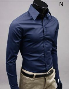 Men Business Casual Shirts in Multiple colors. Buy direct and save $10 instantly. No Coupon Code Require. Material : Cotton Blend / Polyester Size : XS, S, M Color : Black, White, Beige, Brown, Light