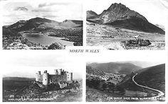 Wales Tryfan Capel Curig Harlech Castle Snowdon Horse Shoe Pass Llangollen 1963 • £6.00