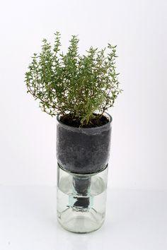 cut bottle pot