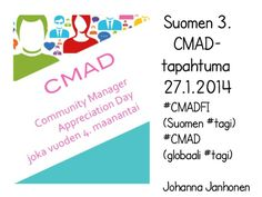 Cmadfi2014avaus - ketkä tekivät CMADFI 2014- tapahtuman?