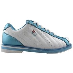 3G Kicks Ladies WhiteBlue Bowling Shoes 11 *** Learn more by visiting the image link.