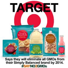 Target's Simply Balanced brand is GMO free, yummy and affordable