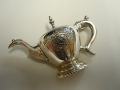 Sterling Silver MFA Teapot Brooch by evalentinedesigns on Etsy, $40.00