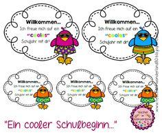"""Teacher In Wonderland: """"Ein wirklich """"cooler"""" Willkommensgruß"""""""