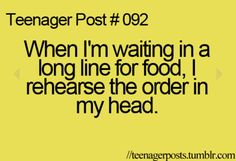 Yup! All the time, it's really funny because when I do it and then I get to the cashiers i forget what I was going to order! Lol