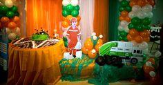decoração de aniversario lixeiro - Pesquisa Google