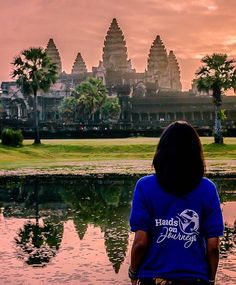 Tag a friend who you would love to explore #AngkorWat with! #dametraveler by handsonjourneys