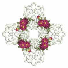 Flower Beauties 2(Lg) machine embroidery designs