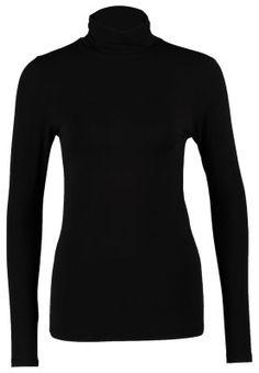 PAJA TURTLENECK - T-shirt - långärmad - svart
