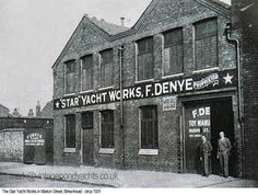A history of the Star Yacht company in Birkenhead, England who, for nearly 70 years, manufactured their iconic pond yachts and children's toy sailing boats. Model Sailboats, Vintage Industrial Furniture, Vintage Models, Wooden Boats, Model Ships, Liverpool, Pond, Sailing, Restoration