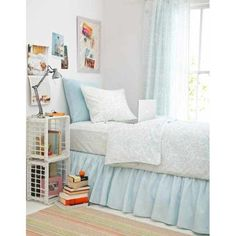 Pine Cone Hill Genevieve Sky King Duvet Cover: Home
