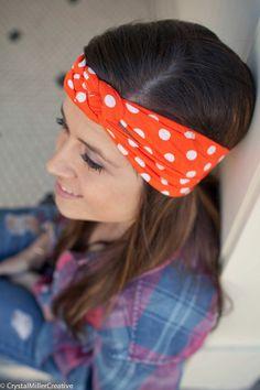 Child/Adult Nautical Knot Headband - Cotton Jersey