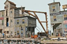 Red Hook Wharf - HO Scale Limited Run Kit