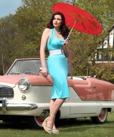 Vivien of Holloway gorgeous turquoise