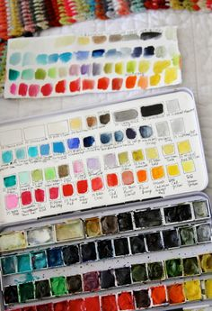 sunday at moss cottage - PG watercolor set