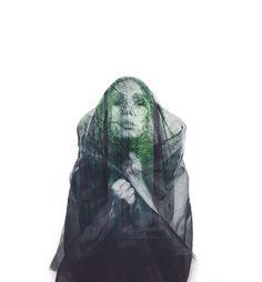 """Haunted"" — Photographer: Kavan Cardoza – Kavan the Kid Model: Nova Rockafeller"