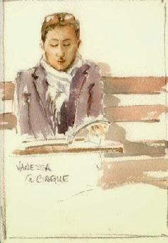 Gordon Werner, Elizabeth - Vanessa reading