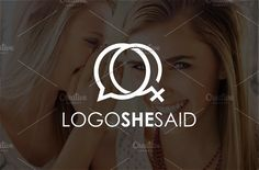 She Said | Logo Template by REDVY on @creativemarket