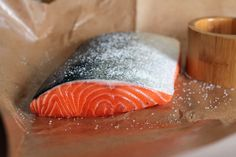 #Salmon omega 3s make you #healthy from the inside out, promoting #heart health, #brain health, soft skin and shiny #hair.