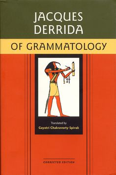 """""""In his 1976 work Of Grammatology, for example, Jeaques Derrida pointed out the fallacy of immediacy and questioned the notion of coherent, self-presentation of meaning in spoken discourse, and he urged close attention to writing as teh ground for understandingthe active play of difference in language and the shifting nature of signification"""" (628)."""