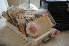 Shabby Card File