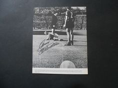 Jimmy Johnstone Glasgow Celtic, Sheffield United & SCOTLAND signed book picture | eBay