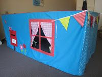 A few months ago I spotted a 'Table Tent' for kids in some magazine. A few weeks later my sister got such a handmade tent for her kids from...