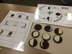 An activity involving Oreo cookies helps educate students about the upcoming total solar eclipse.