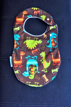 Michael Miller Dino Dudes PUL Side Snap by SpoonerSistersDesign, $12.50 Mama Baby, Michael Miller, Bibs, Baby Gear, Gift Ideas, Unique Jewelry, Handmade Gifts, Etsy, Vintage
