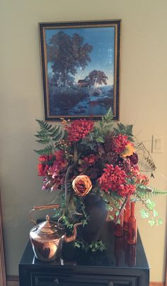 Family room flower arrangemet