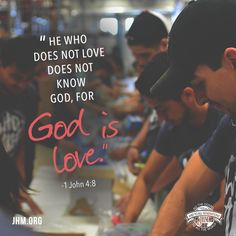 The two most important truths to remember about love is that, first, we must accept God loves us and wants only the best for us. And, second, that we are commanded to be a reflection of God's love to others. #Scripture #Love #GodIsLove #Truth #Blessing #Serve #Faith