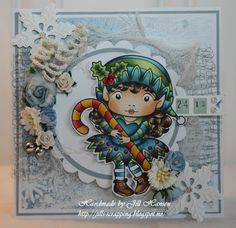 La-La Land Crafts Blog: Christmas Elf Marci
