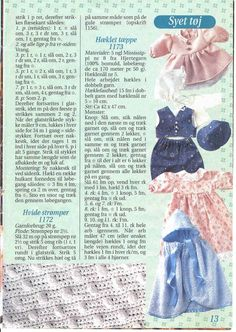Album Archive - Sy & strik til Baby Born Knitting Dolls Clothes, Baby Doll Clothes, Doll Clothes Patterns, Doll Patterns, Clothing Patterns, Knitting Patterns, Baby Born, Views Album, Paper Dolls