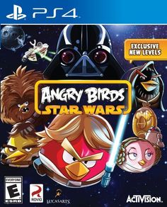 #Angry #Birds #Star #Wars All new competitive and cooperative multiplayer modes 20 exclusive new levels created just for the console game Over 25 hours of engaging gameplay technology.boutiq...