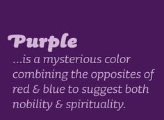 One of my favorite colors since childhood. I recall coloring everything in purple: sun, flowers, etc..