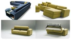 Divani letto Made in italy Sofa Bed, Couch, Bed Slats, Wooden Slats, Bed Base, Mattresses, Storage Solutions, Space Saving, Sofas