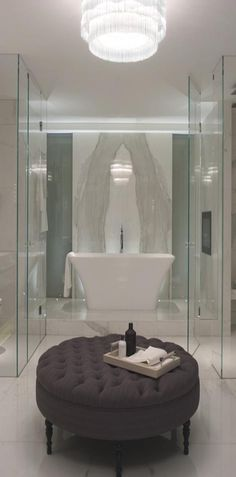 Luxury Home Design ● Luxury Bathroom ● Bad Inspiration, Bathroom Inspiration, Dream Bathrooms, Beautiful Bathrooms, Luxury Bathrooms, Boffi, London Apartment, Apartment Interior, Apartment Design
