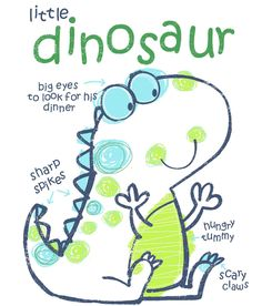All about surface pattern ,textiles and graphics: Dinosaurs