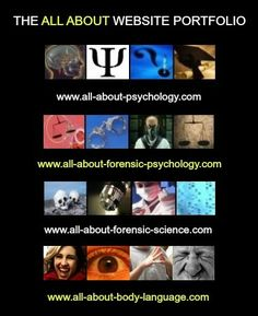 Learn all about #psychology, forensic psychology, forensic science and body language.
