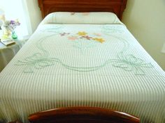 A real bedspread without all the superfluous pillows and dust ruffle stuff